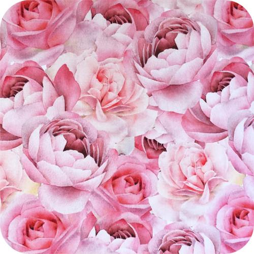 Roses & Peonies 100% Cotton