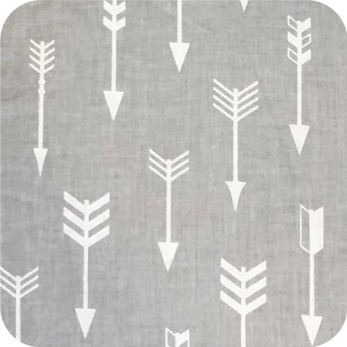 Arrows Grey & White 100% Cotton