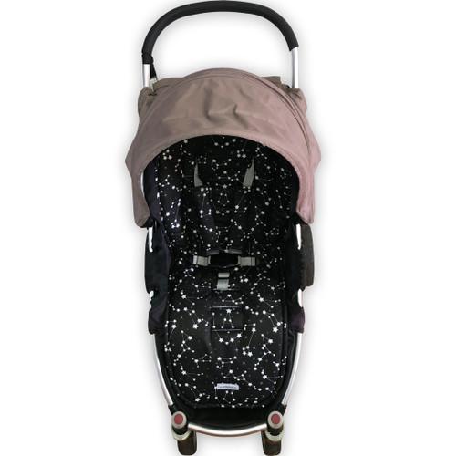 Constellation Black Universal Fit Cotton Pram Liner