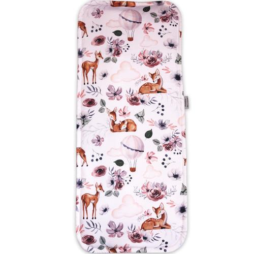 Baby Deer Cotton Waterproof Bassinet Liner