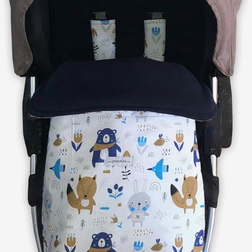 Scandi Woodland Snuggle Bag to fit Baby Jogger Summit xc/x3
