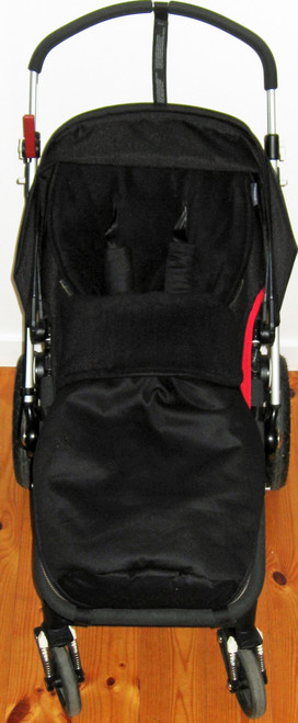 Jet Black Snuggle Bag to fit Bugaboo Cameleon