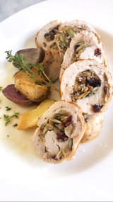 ​Just Judine Cranberry Herb Stuffed Turkey Cutlet