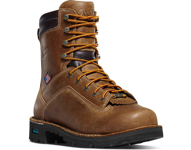 "Danner Quarry USA 8"" Distressed Brown 400G- 17319"