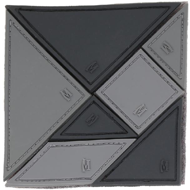 MAXPEDITION 846909011002 Tangram 7-Piece Patch