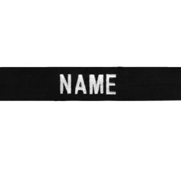 5.11 Tactical 844802253574 Responder Name Tape Black