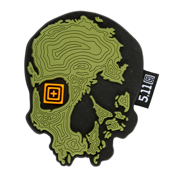5.11 Tactical 888579123111 Topo Skull Patch