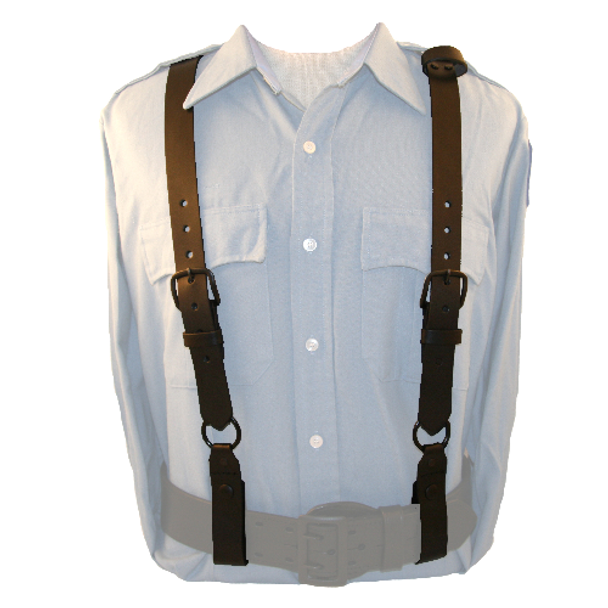 BOSTON LEATHER 192375165399 POLICE SUSPENDERS