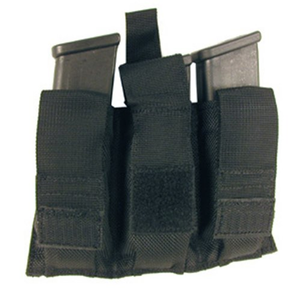 BLACKHAWK! 648018006449 Bts Triple Pistol Mag Pouch W/