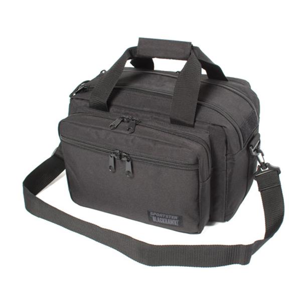 BLACKHAWK! 648018126222 Sportster Deluxe Range Bag Blk