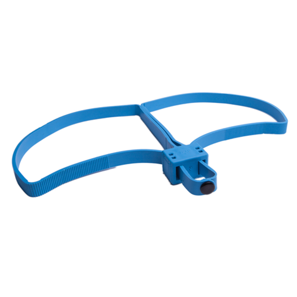 UZI 024718001227 Blue Trainer Flex Cuff
