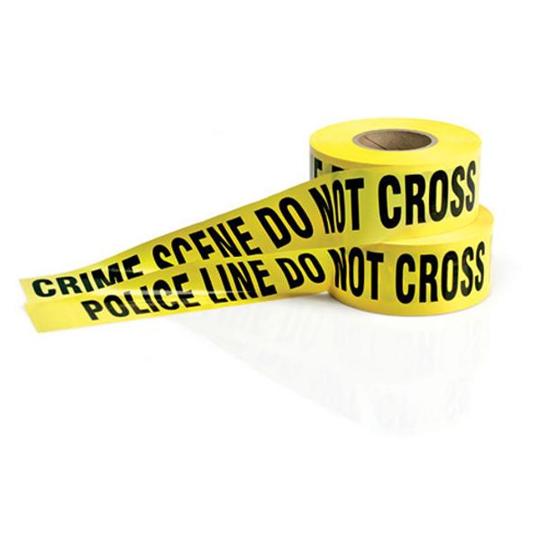 ARMOR FORENSICS 844272000104 POLICE BARRIER TAPE