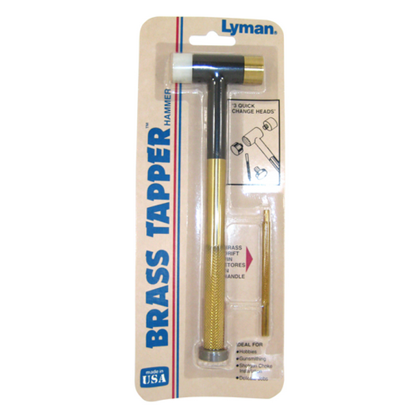 LYMAN PRODUCTS 011516812902 Brass Tapper Hammer