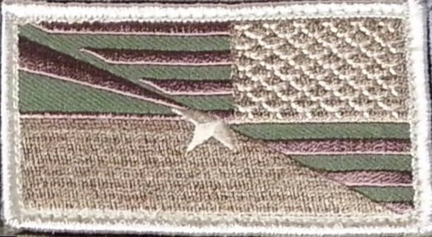 AZ/USA flag Velcro Patch Reversed Multi