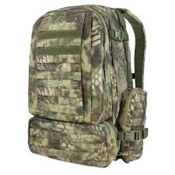 CONDOR OUTDOOR 125-016 3-Day Assault Pack Kryptek Highlander
