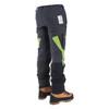 Grey Zero chainsaw pants Side Back