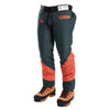 DefenderPRO chainsaw chaps side angle view