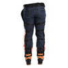 DefenderPRO chainsaw chaps rear view