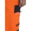 Hi-Vis Orange Zero Men's Chainsaw Pant - Zoom Phone Pocket