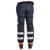 Arcmax Gen3 Arc Rated Fire Resistant Chainsaw Chaps Calf Wrap Rear View
