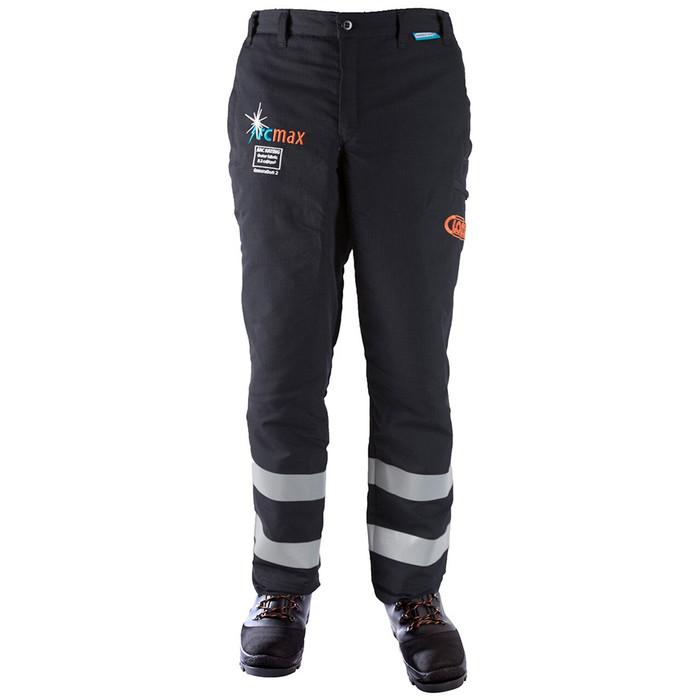 Arcmax Fire Resistant Chainsaw Pants Front View