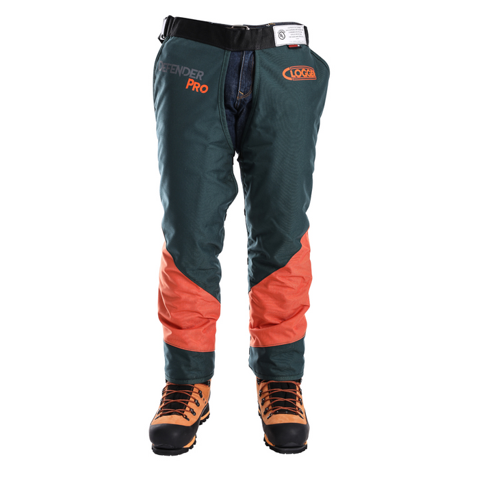 DefenderPRO chainsaw chaps front view