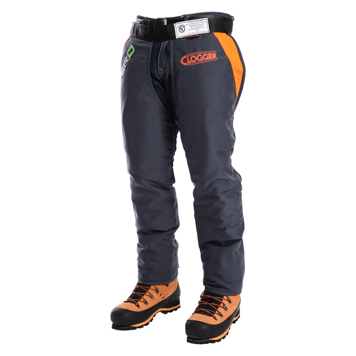 Clogger Zero Chainsaw Chaps front angle view