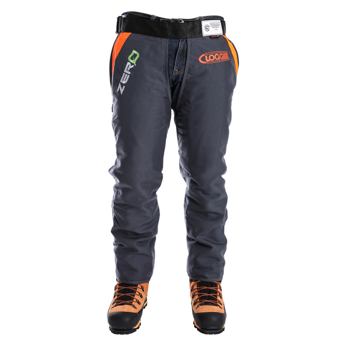 Clogger Zero Chainsaw Chaps calf protection  front view