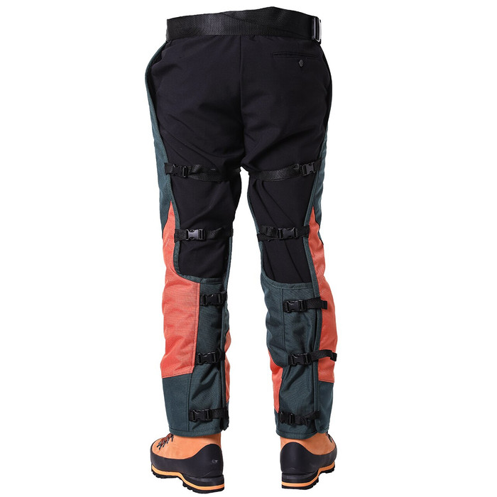DefenderPRO calf wrap 360 chainsaw chaps rear