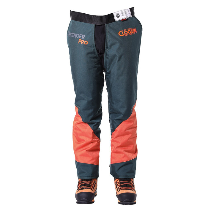 DefenderPRO calf wrap 360 chainsaw chaps front