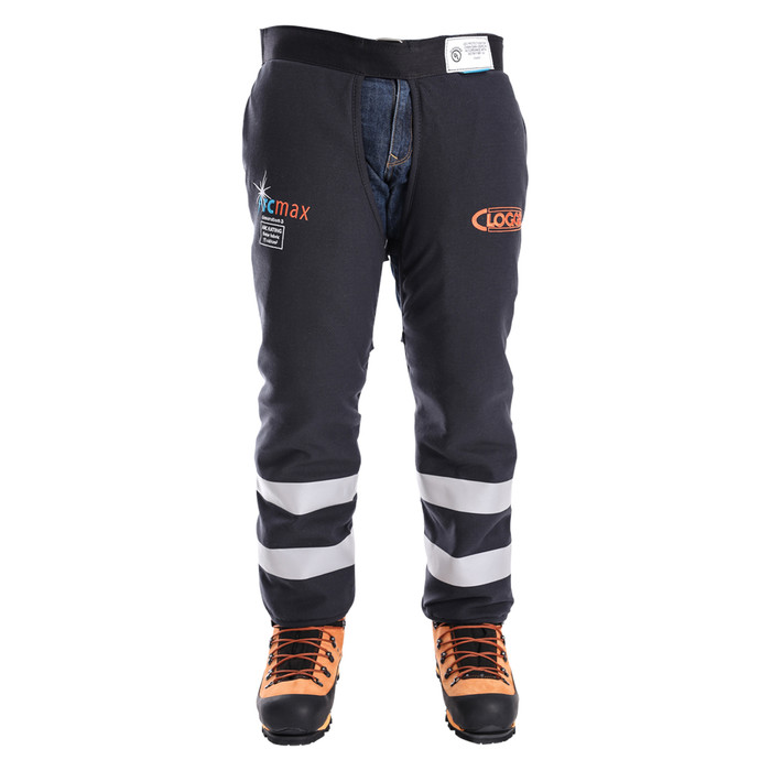 Arcmax Gen3 Arc Rated Fire Resistant Chainsaw Chaps Calf Wrap Front View