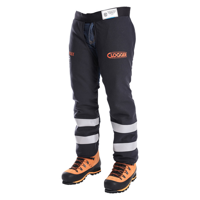 Arcmax Gen3 Arc Rated Fire Resistant Chainsaw Chaps Apron Style Front Right View