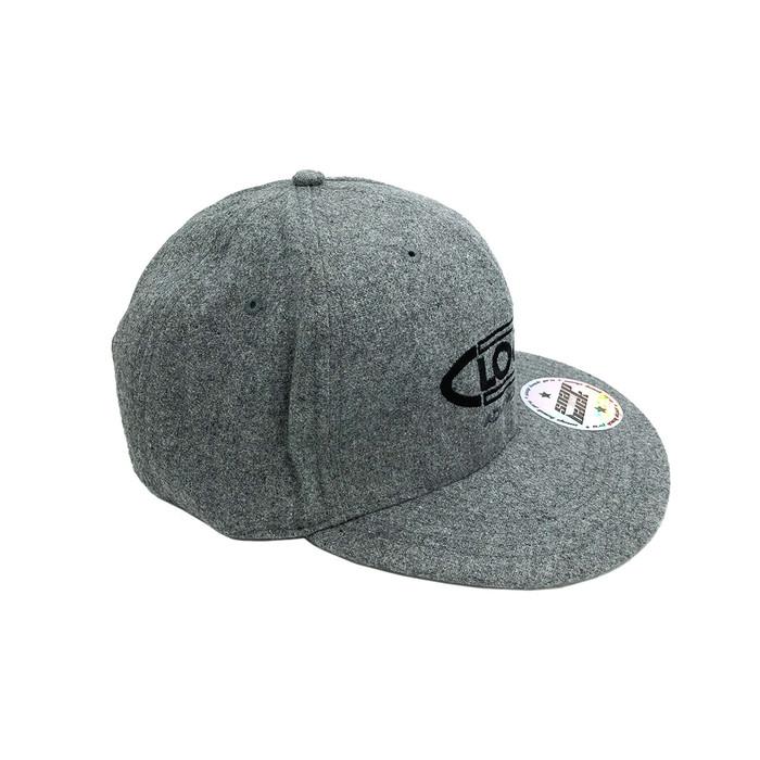 Clogger Wool Blend Snapback Cap