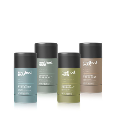 aluminum-free deodorant collection