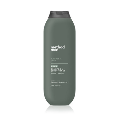 juniper + sage 2-in-1 shampoo + conditioner