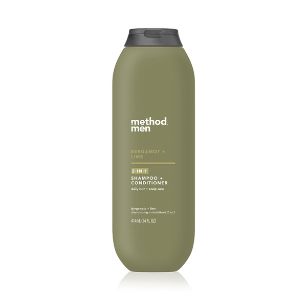 bergamot + lime 2-in-1 shampoo + conditioner