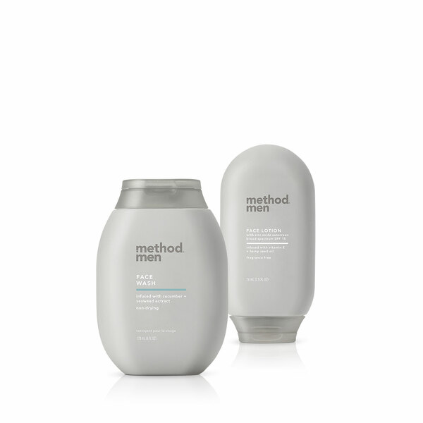 face wash and lotion