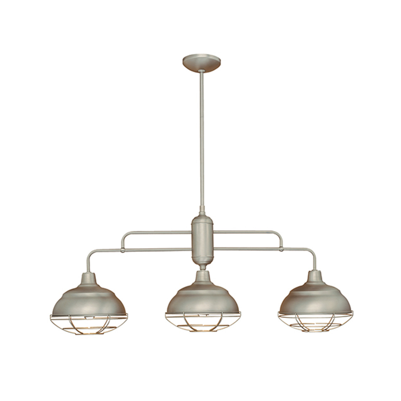 Millennium Lighting Neo-Industrial Vanity Light 5422-SN Satin Nickel
