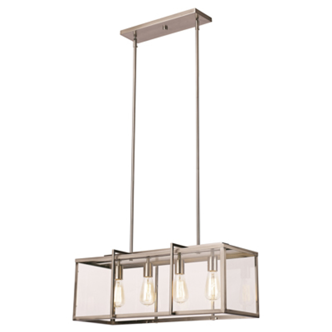Picture of: Trans Globe Lighting 10213 Bn 12 Indoor Brushed Nickel Industrial Pendant At Clw Lighting