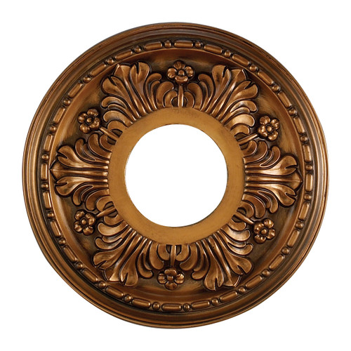 ELK Lighting M1000AB Acanthus Medallion 11 Inch in Antique Bronze Finish
