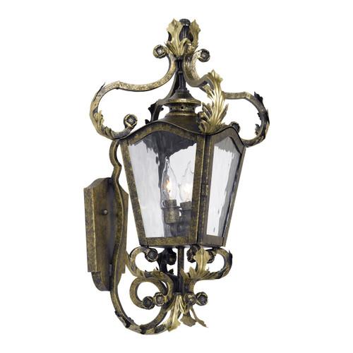 ELK Lighting 5780-CB Acadiana 2-Light Outdoor Wall Lantern in Castle Bronze