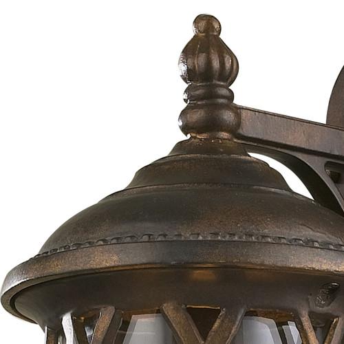 ELK Lighting 42035/1 Barrington Gate 1-Light Outdoor Wall Lantern in Hazelnut Bronze