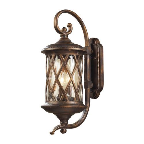 ELK Lighting 42031/2 Barrington Gate 2-Light Outdoor Wall Lamp in Hazelnut Bronze