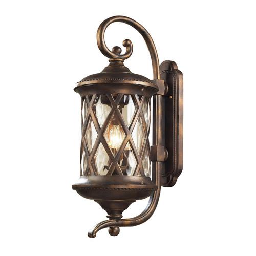 ELK Lighting 42032/3 Barrington Gate 3-Light Outdoor Wall Lamp in Hazelnut Bronze
