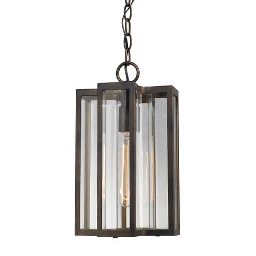 ELK Lighting 45147/1 Bianca 1-Light Outdoor Pendant in Hazelnut Bronze