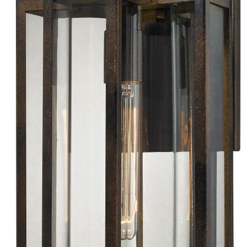 ELK Lighting 45145/1 Bianca 1-Light Outdoor Wall Lamp in Hazelnut Bronze