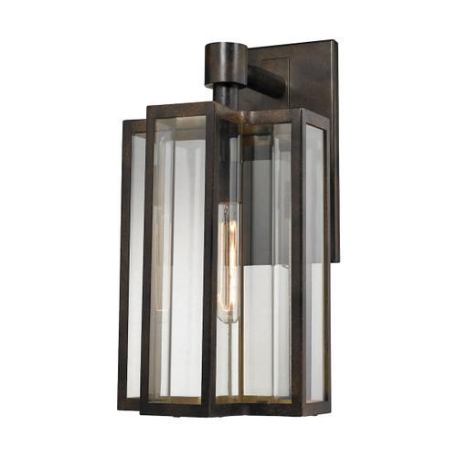 ELK Lighting 45146/1 Bianca 1-Light Outdoor Wall Lamp in Hazelnut Bronze