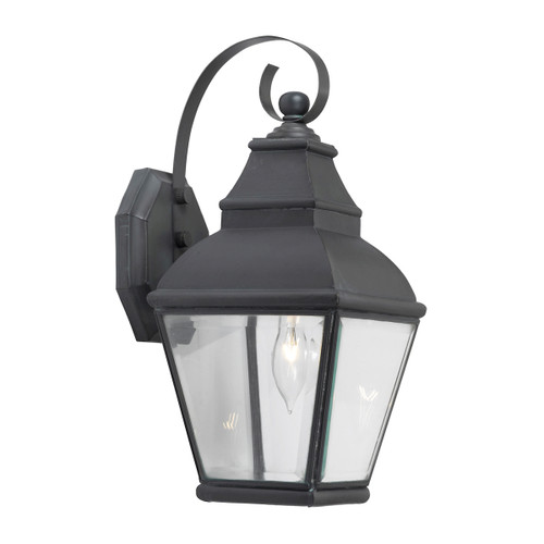 ELK Lighting 5214-C Bristol 1-Light Outdoor Wall Lantern in Charcoal