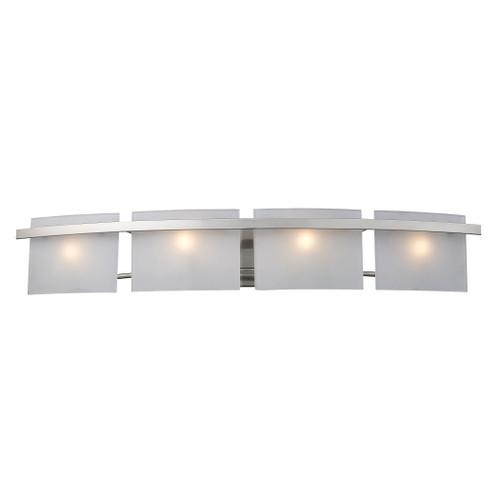 ELK Lighting 11283/4 Briston 4-Light Vanity Sconce in Satin Nickel with Diffusers