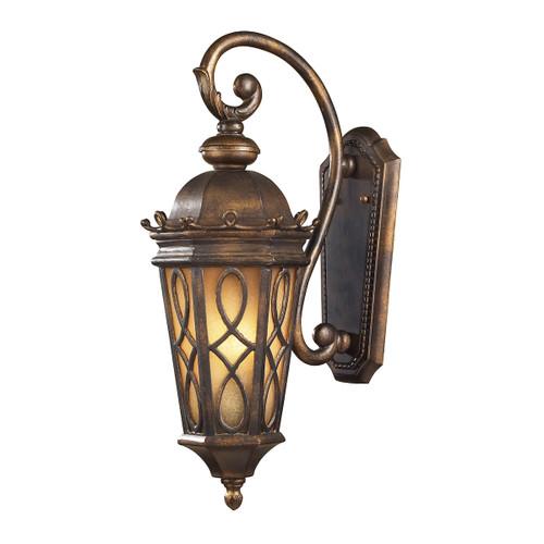 ELK Lighting 42001/2 Burlington Junction 2-Light Outdoor Wall Lamp in Hazelnut Bronze